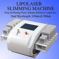 Wholesale diode laser fat for sale - Group buy low level laser therapy diode laser slimming machine weight loss machine fat burning instrumen laser device