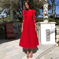 hot sale online 1890a 47d50 Vendita all'ingrosso di sconti Vestito Rosso Da Promenade ...