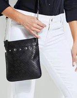 bolsos de las mujeres hermosas al por mayor-Bolso de hombro de mujer hermosa nueva marca de cuero de la pu bolso de mujer bolsos de bandolera de Liu Ding bolso pequeño
