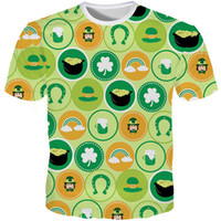 9ceb39f5b Wholesale funny beer t shirts for sale - Saint Patrick Tshirt Male Hip Hop Funny  T
