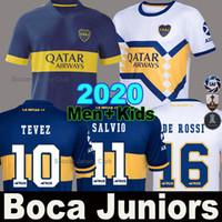 futbol formaları 24 toptan satış-19 20 Boca Juniors futbol forması DE ROSSİ TEVEZ PAVON BENEDETTO MAURO GAGO OSVALDO PEREZ erkek çocuklar Camiseta de futbol 2019 2020 forması kiti