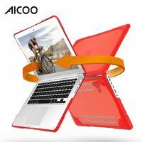 estuche de macbook al por mayor-Nuevo diseño de la computadora portátil cajas de la PC de TPU Shell protector completo para Apple Macbook Cubierta para MacBook Air 11 13 12 15 pulgadas Retina OPP