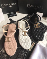 Wholesale open strap boots resale online - Herm Brand Sandals Designer Casual Lady s Flat Sandals Shoes Woman Slippers Quality Sneakers Trainer Woman Boots Slides Loafers by shoe04