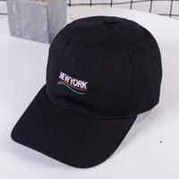 нью-йоркские шляпы оптовых-Seioum новые мужчины женщины нью-йорк папа шляпа вышитые бейсболка изогнутые билл 100% хлопок Casquette марка кости мода шляпы