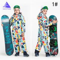 soie achat en gros de-Juvénile Vêtements Ski Suit Garder Au Chaud Soie Soie Neutre Vêtements Combinaison Aérer Sports D'hiver Petit Et Frais Xiaanqi