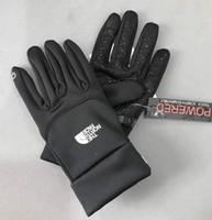 su geçirmez kış kayak eldivenleri toptan satış-Klasik TN markalar Sonbahar ve kış sporları erkekler sıcak dokunmatik ekran kayak dağcılık kaymaz bisiklet bayanlar eğlence su geçirmez eldiven