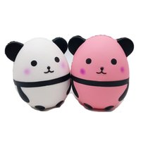 девушка панда мягкая игрушка оптовых-Мягкие игрушки Джамбо розовый панда редкие мягкие PU мягкие Джамбо сотовый телефон ремни подвески дети мальчик девочка подарок Оптовая бесплатная доставка