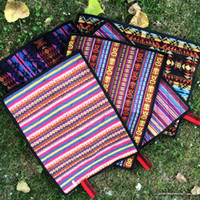 Wholesale car opening lights resale online - Moisture Proof Portable Outdoor Pads Ethnic Style Waterproof Light Seat Cushion Single Person Thickening Fold Exquisite New Arrival gtI1