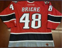 Wholesale hockey jersey size 48 resale online - Custom Men Youth women Vintage Danny Briere Vintage Buffalo Sabres Hockey Jersey Size S XL or custom any name or number
