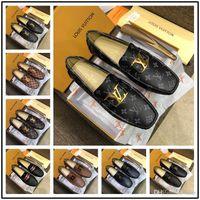 los mejores zapatos de boda de tacón bajo al por mayor-Mejores estilos en punta del dedo del pie el zapato de vestido para hombre de diseño italiano hombre vestido de los zapatos de cuero zapatos de la boda de lujo negro genuino de los hombres de los zapatos de tacón bajo