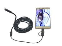 câmera médica usb venda por atacado-USB-C / Tipo-C Câmera de Inspeção de Tubo de Cobra de endoscópio à prova d'água BoreScope 2M