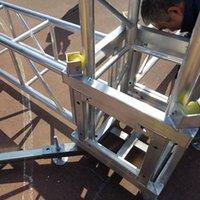 ingrosso cerchio cerchio chiaro-Alluminio all'aperto del cavo del tetto della scatola della fase del tubo del tubo del supporto di illuminazione di Milos di alluminio di Milo