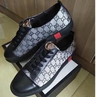 koreanische markenschuhe großhandel-Verkaufe Marke sieht billig Schuhe Sommer neue Sneaker Trend Schuhe koreanische Version Low-Top Mode Leder Herrenschuhe, Freizeitschuhe, G1.51