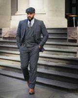 ingrosso giubbotto in argento mens-Smoking da cerimonia formale per sposo Mens Best Abiti da uomo Alta moda Fashion Business Mens Work Suit (Blazer + Pants + Vest)