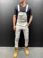 Autumn New Jeans Men Fashion Wash Collision Color Casual Drawstring Denim Long Section Street Wild Hip Hop Loose Harem Pants
