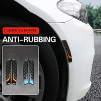 audi a4 bmw al por mayor-Rueda de fibra de carbono Protector de cejas Rueda Pegatinas BMW Sport Power M E90 E60 F30 F10 Audi A3 A4 Mercedes W204 W205