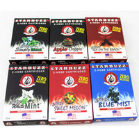 Wholesale 14 hose for sale - 2019 E Hose Cartridges Starbuzz Refillable Multi Flavor for E Hose Atomizer Various Flavors for Starbuzz ehose Mod pack Flavours