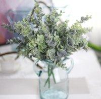 ingrosso arrangiamenti artificiali artificiali-pianta di erba verde eucalipto peloso, reale toccando la decorazione della casa accessorio di disposizione dei fiori Piante artificiali GB793