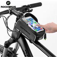 quadro de acessórios de saco venda por atacado-ROCKBROS MTB Saco Da Bicicleta 6