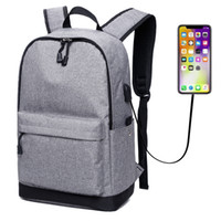 Wholesale men business backpack resale online - Backpacks Up to inch Laptops with USB Charging Port Anti Theft Lock Water Repellent Business Back Packs Bags