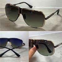 völker sonnenbrillen groihandel-Neue Luxus-Sonnenbrille Menschen retro Sonnenbrille Metall CASCAIS hohler Mode-Stil UV 400 quadratische Rahmen Objektiv-Design Top-Qualität