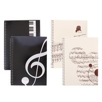 Wholesale composition notebooks for sale - Group buy Set of Pieces Blank Sheet Music Composition Manuscript Staff Paper Art Music Notebooks Musicians Gifts A4 Pages