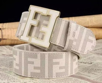 Wholesale men wedding belt for sale - Group buy Hotsale new FENDI A1belts mens womens Jeans belts For men Women Metal Buckle brand belts with the cm cm size as gift