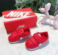 Wholesale children shoes canvas sneakers resale online - Top quality brand NIIK Children Running Shoes Jogging Casual Canvas Shoe Classic Design Baby Kids Sports Outdoor Sneakers