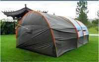 tentes familiales livraison gratuite achat en gros de-Camping en gros famille personnes partie de randonnée Grandes tentes 1 salle 2 salle étanche tunnel tente tente événement tente tente de plage Livraison gratuite