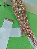 modèles de robe pour la couture achat en gros de-Main Fix Hot Fix Strass Coudre Sur Ruban Strass Applique Designs pour Robe De Mariée Bracelets De Mariée Ceintures