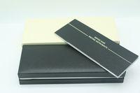 ingrosso disegno penna stilografica di lusso-Design di lusso Scatola portafoto in legno nero per mb stilografica / penna a sfera / penne a sfera astuccio con il manuale di garanzia A8