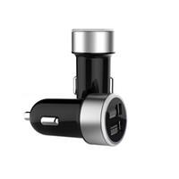 зарядное устройство multi pack оптовых-Vantrue Универсальный Dual USB Автомобильное зарядное устройство автомобиля гнездо Порт 5V 3A быстрое зарядное устройство автомобильного прикуривателя для Xiaomi Tablet iPhone LG