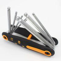 Wholesale bike tool kit set for sale - Group buy HOT Bicycle Tools Sets Bike Multi Repair Kit Hex Spoke Wrench Screwdriver Chrome Vanadium Steel Multifunctional Folding Multit