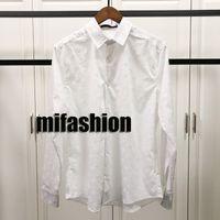937e81da1d63a Wholesale designer silk shirts for sale - 2019 Brand Fashion Luxury  Designer Europe Paris Men s