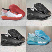 Wholesale newest kevin durant basketball shoes resale online - newest Mens Trainers KD EP Foam Gao Bang Pink Paranoid Oreo ICE Basketball Shoes Original Kevin Durant XI KD11 Sneakers Size