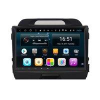 rádio de carro para kia venda por atacado-Android Octa 8 Núcleo Car Multimedia Player Rádio Do Carro Estéreo Wifi para KIA sportage 2010 2011 2012 2013 2014 2015 2016