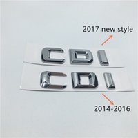 amg aufkleber großhandel-Neue Styling Für Mercedes Benz CDI AMG 4 Matic Auto Kofferraum Buchstaben Abzeichen Emblem Aufkleber
