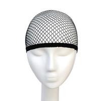 ingrosso le protezioni della parrucca di qualità-Vendita superiore retine per capelli di buona qualità maglia tessitura parrucca nera capelli netti cappelli per tessitura tessitura parrucca retine per capelli