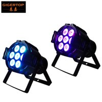 Wholesale Gigertop Units x12W RGBW IN1 led par stage light RGBW DMX Dream colour Wide use for Club Dj show Home party
