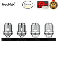 itaste ersatzspulen großhandel-5 teile / los original freemax twister ersatzspule s316l x1 x2 x3 mesh tx1 nx2 tnx2 mesh zerstäuber kern für fireluke 2 vape tank