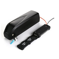 Wholesale motor kits for bikes resale online - Hailong battery V Ah Sanyo GA cell Li ion electric bike battery for Bafang W BBSHD motor kit with USB