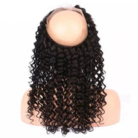 Wholesale queens kinky curly hair resale online - My queen virgin human hair hd lace closure frontal deep kinky curly pre plucked hairline looks very natrual free part