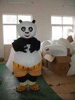panda fantasia venda por atacado-2019 de alta qualidade quente kung fu panda traje da mascote kung fu panda traje da mascote kungfu panda fancy dress