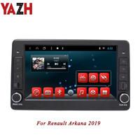 rom autos großhandel-YAZH In-Armaturenbrett Android 8.1 Auto Headunit für Renault Arkana 2019 Autoradio 9.0 Zoll IPS-Anzeige 2GB RAM 32GB ROM kein CD-Auto DVD-Spieler