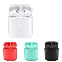 Wholesale white color windows online - V8 TWS Pop Up Window Touch Wireless Earbuds Double V5 Bluetooth Headphones Earphones Headset Earbuds