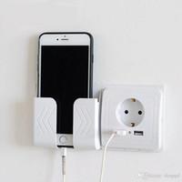ingrosso interruttore comandi intelligenti di illuminazione-Smart Home 2A doppia porta USB caricatore della parete adattatore di carico Presa a muro con USB EU Plug Socket Presa di corrente