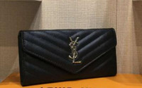 Wholesale lace styles photos resale online - High Quality Womens Wallets and Purses Fashion Large Capacity Ladies Purse Cowhide Luxury Handbags Women Bags Designer