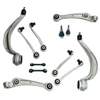 PEUGEOT 307 00-08 FRONT SUSPENSION 2 LOWER WISHBONE ARMS 2 BALL JOINTS /& 2 LINKS