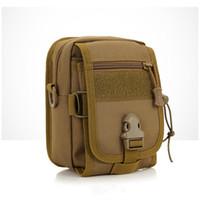 Wholesale military bags online - Sports Tactical Waist Bags Compact Pouch Utility Gadget Pouch Portable Military Belt Waist Bag Pocket SSA297
