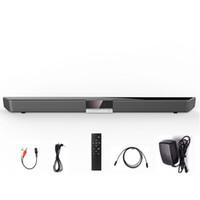 altavoces inalámbricos bluetooth tv al por mayor-Barra de sonido Bluetooth para TV Bajo Conexión dual Cableado e inalámbrico Barra de sonido Cine en casa Sonido envolvente Altavoces de audio con subwoofer